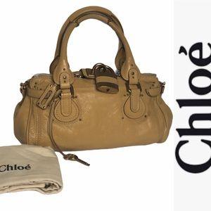 NWT Chloe Jaune Paddington Satchel med size